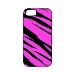 Pink Tiger Apple Iphone 5 Classic Hardshell Case (pc+silicone)