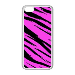 Pink Tiger Apple Iphone 5c Seamless Case (white)