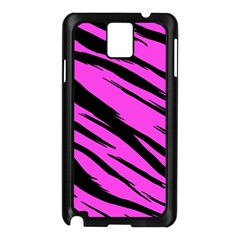 Pink Tiger Samsung Galaxy Note 3 N9005 Case (black)