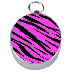 Pink Tiger Silver Compass