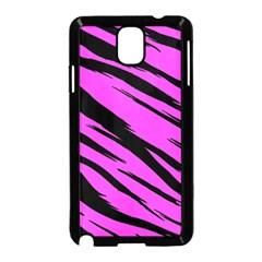 Pink Tiger Samsung Galaxy Note 3 Neo Hardshell Case (Black)