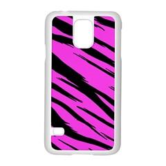 Pink Tiger Samsung Galaxy S5 Case (White)