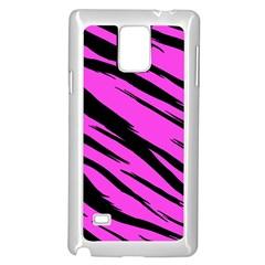Pink Tiger Samsung Galaxy Note 4 Case (White)