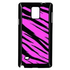 Pink Tiger Samsung Galaxy Note 4 Case (Black)