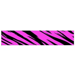 Pink Tiger Flano Scarf (Small)