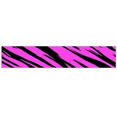 Pink Tiger Flano Scarf (Large)