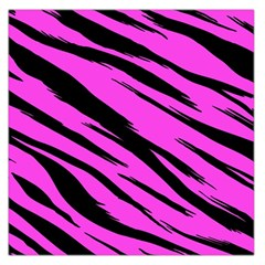 Pink Tiger Large Satin Scarf (Square)