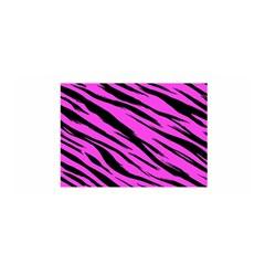 Pink Tiger Satin Wrap