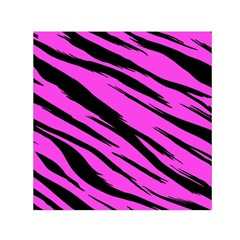 Pink Tiger Small Satin Scarf (square)