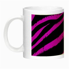 Pink Zebra Glow In The Dark Mug