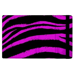 Pink Zebra Apple Ipad 3/4 Flip Case