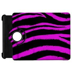 Pink Zebra Kindle Fire Hd Flip 360 Case