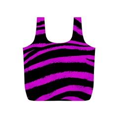 Pink Zebra Reusable Bag (s)