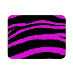 Pink Zebra Double Sided Flano Blanket (Mini)