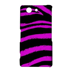 Pink Zebra Sony Xperia Z3 Compact Hardshell Case
