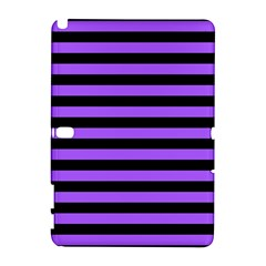 Purple Stripes Samsung Galaxy Note 10.1 (P600) Hardshell Case