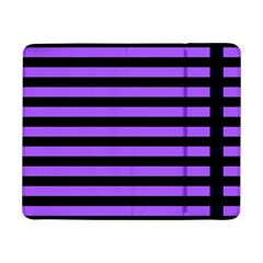 Purple Stripes Samsung Galaxy Tab Pro 8.4  Flip Case