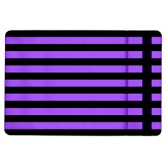 Purple Stripes Apple iPad Air Flip Case