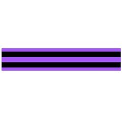 Purple Stripes Flano Scarf (Large)