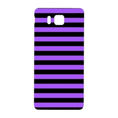 Purple Stripes Samsung Galaxy Alpha Hardshell Back Case