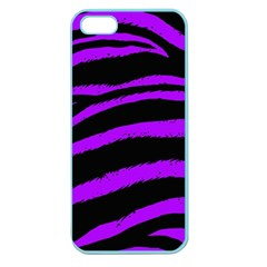 Purple Zebra Apple Seamless Iphone 5 Case (color)