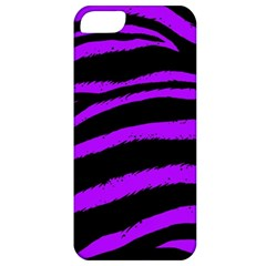 Purple Zebra Apple Iphone 5 Classic Hardshell Case