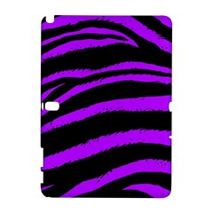Purple Zebra Samsung Galaxy Note 10 1 (p600) Hardshell Case