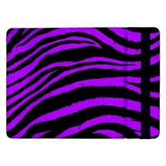 Purple Zebra Samsung Galaxy Tab Pro 12.2  Flip Case