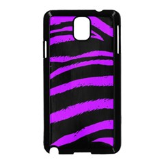Purple Zebra Samsung Galaxy Note 3 Neo Hardshell Case (black)
