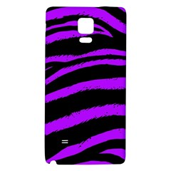 Purple Zebra Samsung Note 4 Hardshell Back Case