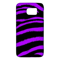 Purple Zebra Samsung Galaxy S6 Hardshell Case