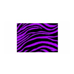 Purple Zebra Satin Wrap