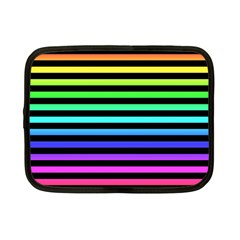 Rainbow Stripes Netbook Sleeve (small)