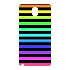 Rainbow Stripes Samsung Galaxy Note 3 N9005 Hardshell Back Case