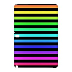 Rainbow Stripes Samsung Galaxy Tab Pro 10.1 Hardshell Case