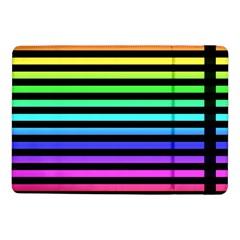 Rainbow Stripes Samsung Galaxy Tab Pro 10.1  Flip Case