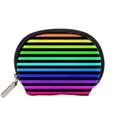 Rainbow Stripes Accessory Pouch (small)