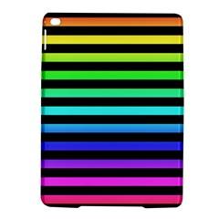 Rainbow Stripes Apple Ipad Air 2 Hardshell Case