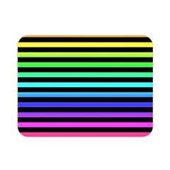 Rainbow Stripes Double Sided Flano Blanket (mini)