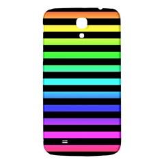 Rainbow Stripes Samsung Galaxy Mega I9200 Hardshell Back Case