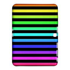 Rainbow Stripes Samsung Galaxy Tab 4 (10.1 ) Hardshell Case