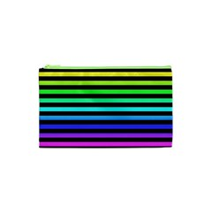 Rainbow Stripes Cosmetic Bag (XS)
