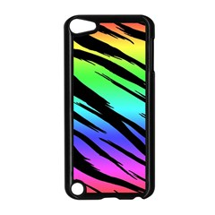 Rainbow Tiger Apple Ipod Touch 5 Case (black)