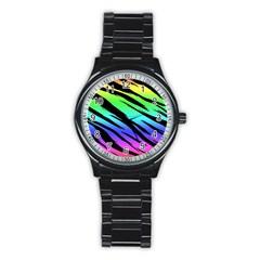 Rainbow Tiger Sport Metal Watch (black)