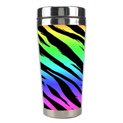 Rainbow Tiger Stainless Steel Travel Tumbler