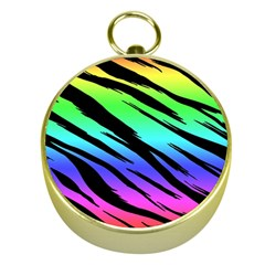 Rainbow Tiger Gold Compass