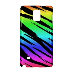 Rainbow Tiger Samsung Galaxy Note 4 Hardshell Case