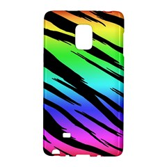 Rainbow Tiger Samsung Galaxy Note Edge Hardshell Case