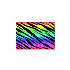 Rainbow Tiger Satin Wrap