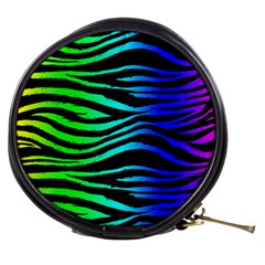Rainbow Zebra Mini Makeup Case